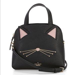 Kate Spade Cat's Meow Small Lottie Satchel